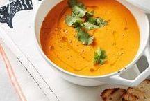 Suppen Rezepte // gesund und schnell / Eine Sammlung von leckeren Suppenrezepten zum nachkochen. Vegetarische oder vegane Suppen für Jedermann. #suppen #suppenrezept