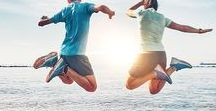 Fit im Frühling // Laufen und Fitness / Endlich ist der Winter vorbei, die Tage werden länger, die Temperaturen wärmer und man bekommt wieder Lust draußen zu sein und Sport zu machen. Egal ob Laufen, Yoga, Fitness oder einfach nur Spazieren gehen. Hier findest du jede Menge Inspiration, wie du fit durch den Frühling kommst.  #fit #frühling #joggen #laufen #sportmotivation #inspiration #fitfam