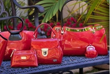 Love that Lipstick Red / Red purses, red handbags / by Marianne's pins