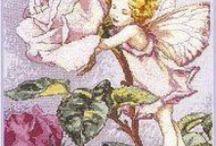 Cross stitch Fairy's,Elf's 7