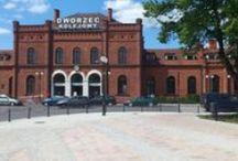 Dworzec Główny / Dworzec Główny w Skierniewicach.