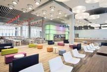 BBVA, nueva sede corporativa de Madrid / SOStudio ha creado tres espacios para acoger un restaurante de empleados, un restaurante a la carta y una cafetería, incorporando las últimas tendencias del mercado.