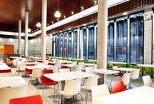 Hospital 12 de Octubre / espacio se configura como el concepto dedicado a las cafeterías de Hospitales creadas por el equipo de SOStudio.
