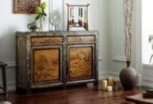 China Seasons / One of our most popular collections, featuring gorgeously lacquered and painted Chinese cabinets, each one handcrafted and finished using traditional techniques.