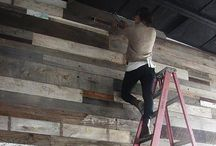 Refurbished Wood / Using refurbished wood in bigger projects in your house is a great idea. Recycling wood is great for the environment and looks great in your home.