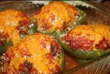 Peppers (both hot and sweet) / Whether you're looking for something to do with sweet bells or spicy jalapenos, this is the place for you!