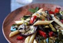 Eggplant / Eggplant is a nightshade like peppers, tomatoes and potatoes but it has a character all its own.  If you're not used to working with eggplant -- or if you're looking for something new -- try some of these recipes!