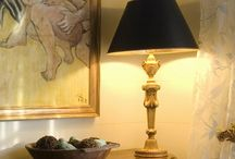 Lamps and Lighting from Designs by Jennifer Owen / Lamps can add light and design to your home. Here are some of my favorite styles that I have used throughout my career.