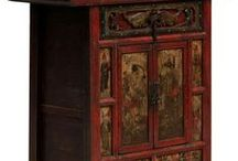 Wardrobes, Armoires and Cabinets / A collection of Chinese and Oriental wardrobes, cabinets and armoires from Shimu.