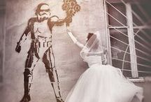 street art wedding