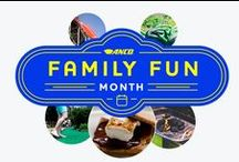 ANCO Family Fun Month / August is officially ANCO Family Fun Month. Follow along as we share our daily activity suggestions and share all the exciting adventures you can go on this month with your loved ones.