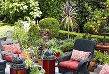 Patio Ideas / Inspiration for a small patio.