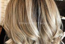 Balyage  blonde