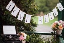 Chic Personalized Weddings / Personalized, handcrafted and just-for-you ideas for your wedding reception.