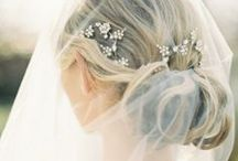 Chic Wedding Day Hair