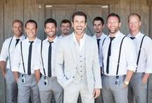 Chic Grooms / Inspiring looks for your groom to look his very best on the big day.