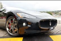 2008 Maserati Gran Turismo S MC Shift / This one owner S MC Shift has been lovingly maintained and is 'as new' If you are looking for an unmarked out of the box black on black Maserati then look no further.
