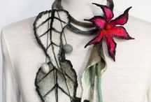 ideas on crochet, silk point lace jewelry and other handmade stuff
