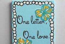 Big & Little Crafts / Perfect crafts to make for your big, little, or Tri Delta sister