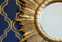 Blue & Gold / We love our Tri Delta colors.