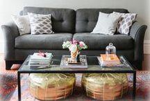 Around the House / Furniture & decor to make home feel like home.