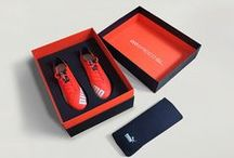 Puma EvoSpeedSL VIP Box / Name&Name Advertising & Design's promotional packaging for Puma's EvoSpeedSL global launch. Produced with Puma's headquarters in Germany.