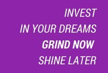 Motivational Quotes / The DREAM is free. The HUSTLE is sold separately