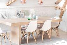 Inspirations Scandinaves / Un tableau Home Design inspiré du charme nordique et ses variantes, comme le Hygge, concept d'art de vivre danois synonyme de confort dans une ambiance lumineuse et chaleureuse.