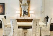 Dining @Galerie_M / Beautiful dining tables and chairs