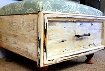 Furniture Repurposed / Furniture repurposed, repurposed furniture, furniture reinvented into something fun and new!