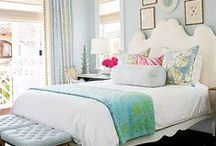 Beautiful Rooms / Beautiful bedroom, beautiful living room, beautiful rooms. Coastal style, farmhouse style, fixer upper style.
