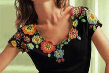 Costuras/Crochê/Patchwork / by Gigi Oki