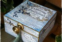 Cartonnage/Decoupage / by Gigi Oki