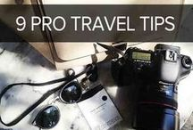 Travel Tips / Pins of the best travel tips to follow before you embark on your vacation.