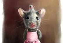 ~As  Cute as A Mouse~ / ...and that is cute ! / by Jari Ann