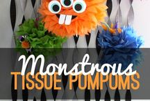 Monster Party / Roarrrr! Love these ideas for a Monster Party! For more on party themes, DIY décor and great deals, visit us at inspiredparties.weebly.com!