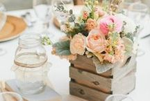Centerpieces / Lots of unique ideas for the center of your table!! For more on party themes, DIY décor and great deals, visit us at inspiredparties.weebly.com!