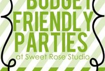 Party tips / A collection of party tips to keep in mind for your next event. For more on party themes, DIY décor and great deals, visit us at inspiredparties.weebly.com!