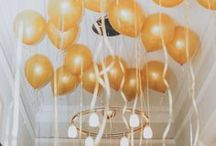 Balloons! / Balloons make everything better! For more on party themes, DIY décor and great deals, visit us at inspiredparties.weebly.com!