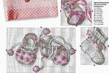 Schemi baby cross stitch