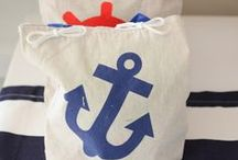 Nautical Party / Sweet nautical ideas for any age! For more on party themes, DIY décor and great deals, visit us at inspiredparties.weebly.com!