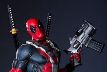 Deadpool / Sup fellow fans! Quit dorking around and bask in the glory of me!!! / by Noah Chambers