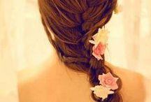 Fleurs pour cheveux / Accessoires cheveux en fleurs