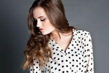 Noir et blanc / Comment se coiffer avec un look Black & White, tout va en fait...