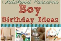 Birthday ideas for BOYS / Check out these cool ALL BOY ideas for his next birthday! For more party inspiration, links to great deals and tons of DIY ideas visit www.inspiredparties.weebly.com!