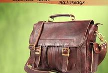Leather Men's Handbag / Leather Men's handbag - Naethanz are Leading leather handbags manufacturers factory in Mumbai, India.