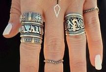 Fashion Accessories / Stylish #trendy accessories - starting from Earring to toe ring..