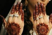 All for an Indian Bride / Messy or perfect, bun or a braid, lehenga or saree - all the hairstyles, costumes, makeup tutorials and tips, everything for the #IndianBride