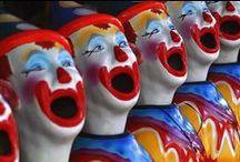 Ha Ha said the Clown / by Aunt Lizabetty