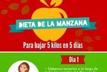 Dieta para bajar de peso / Dietas para bajar de peso